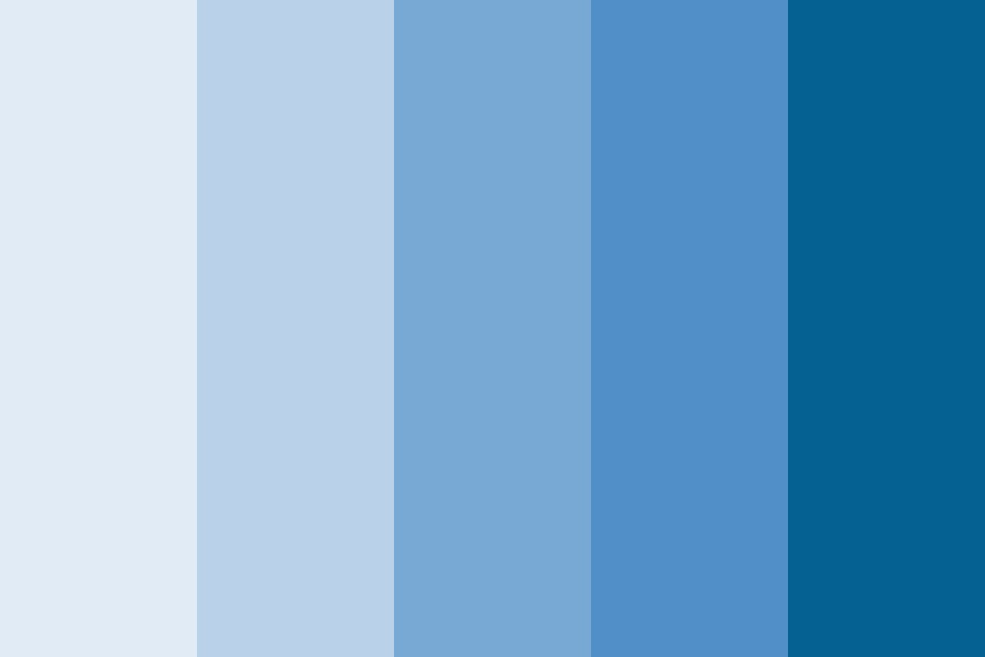 Vci Blue Color Palette