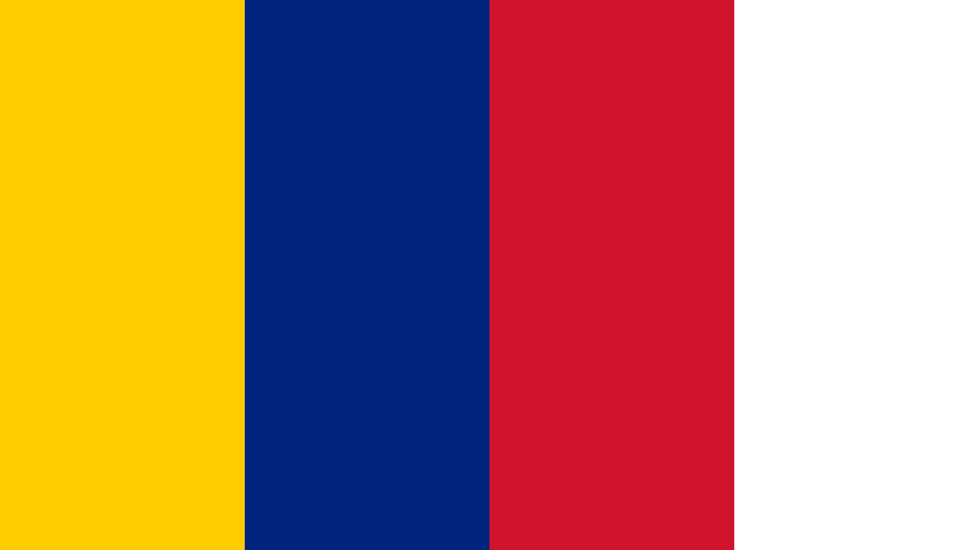 Venezuela Flag Color Palette