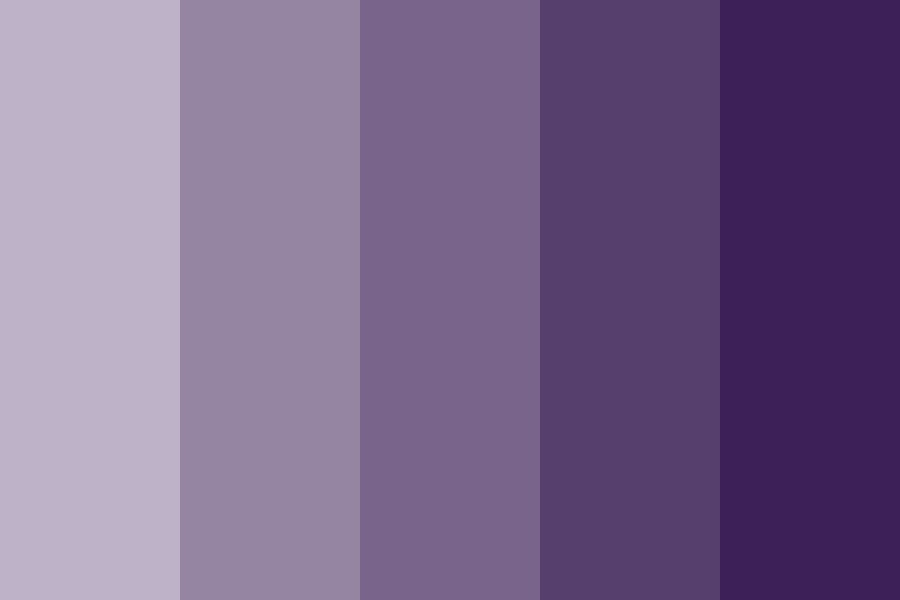 Very Cool Quite Literally   Violets Color Palette
