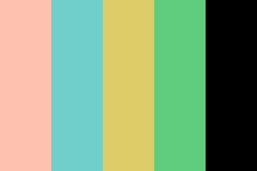 Vintage Feeling Spring Color Palette