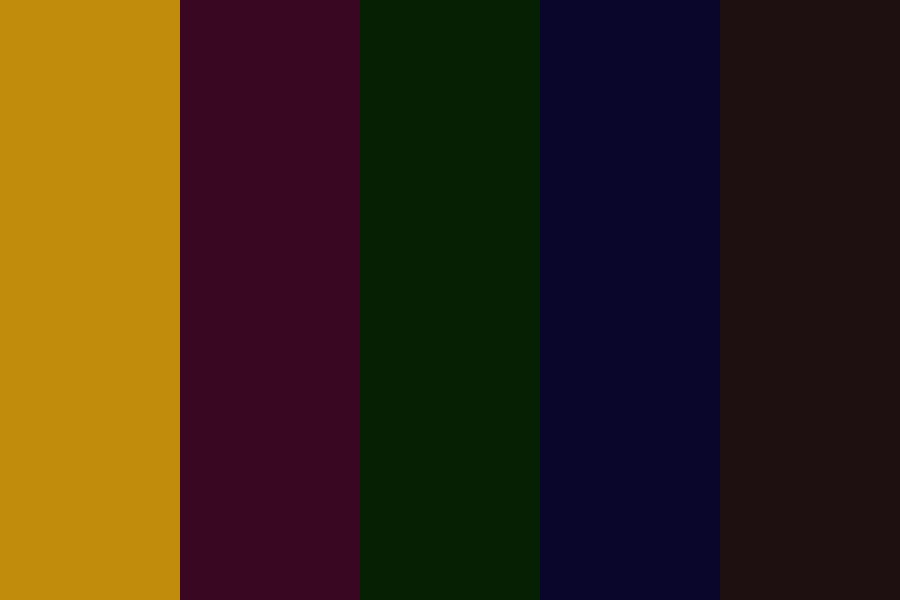 Vintage Into The Woods Color Palette