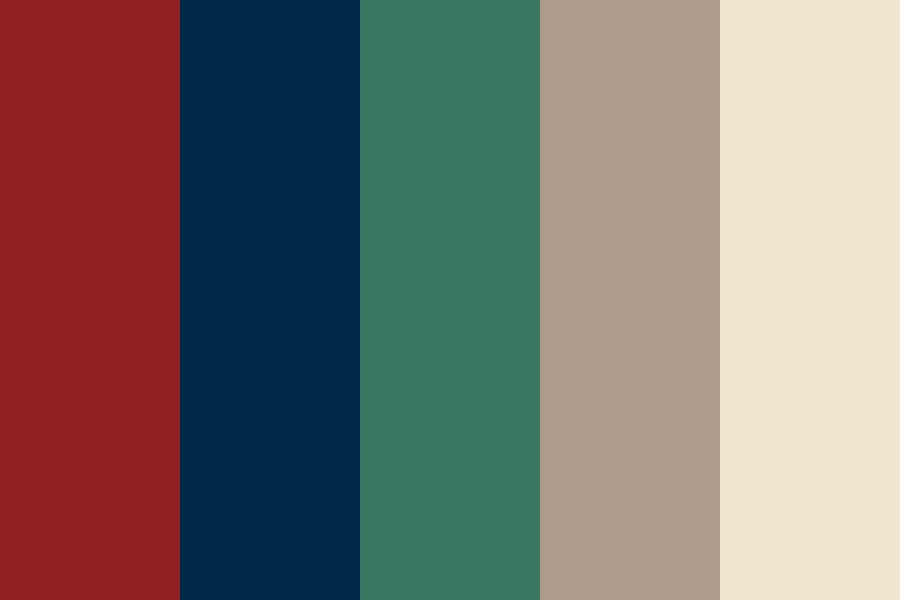 Vintage Living Color Palette