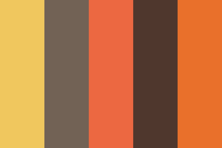 Vintage Modern Earth Tones Color Palette