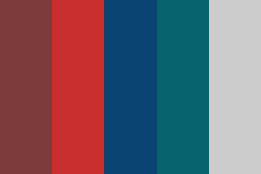 Vintage Party Color Palette