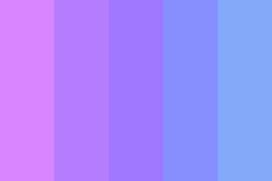 Violets And Indigos Color Palette