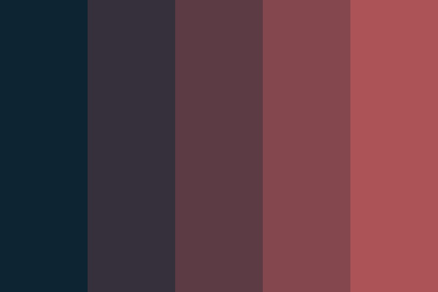 Waiting For The Sunrise Color Palette