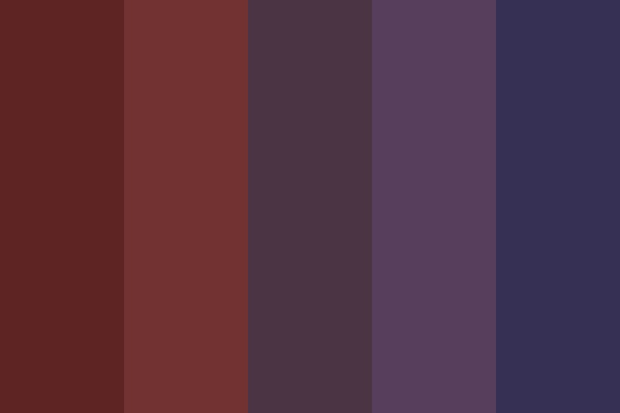 Walking Among Midnight Color Palette