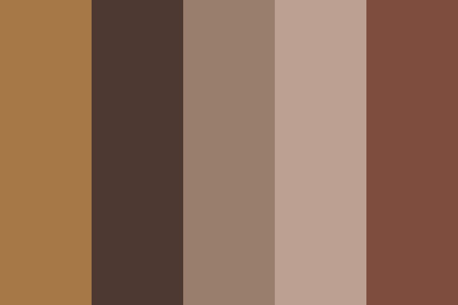 Warm And Awake Color Palette