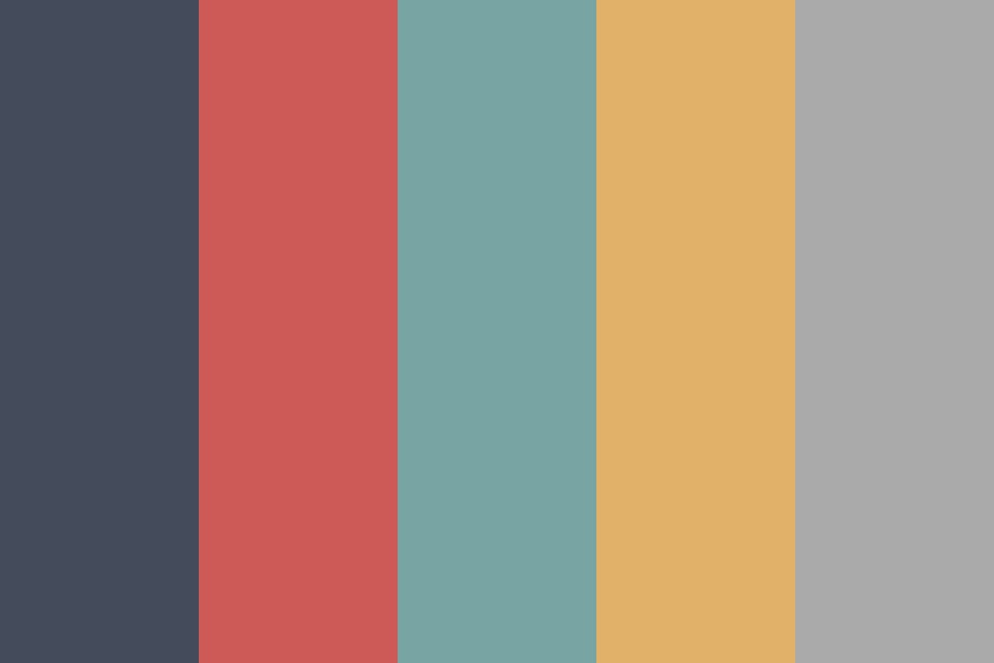 Warm And Cool Color Palette