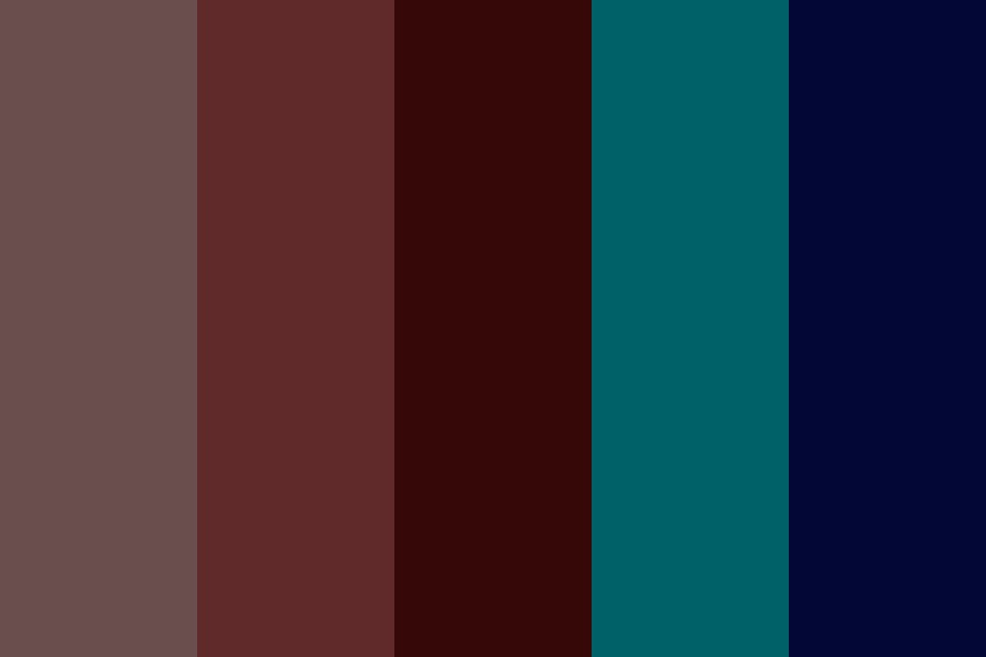 Warm And Cool Colours Color Palette