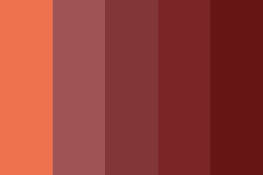 Warm And Creepy Color Palette