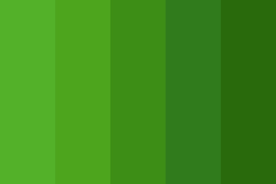 Warm Dark Greens Color Palette