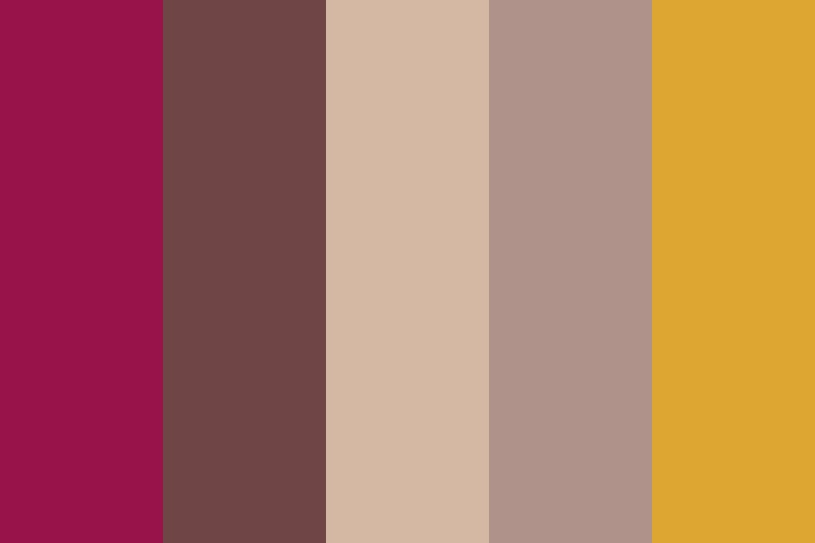 Warm Eye Look Color Palette