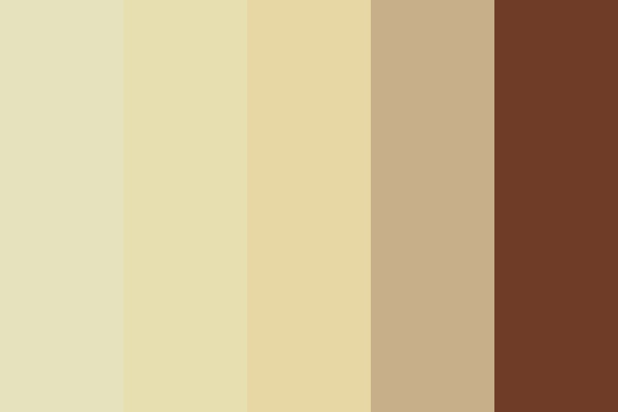 Warm Latte Color Palette