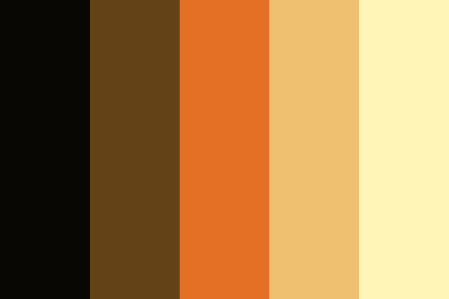 Warm Light Color Palette