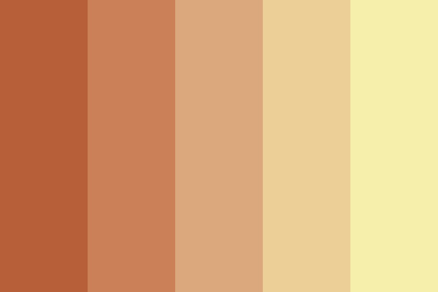 Warm Like The Autumn Sunset Color Palette
