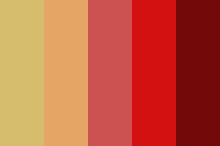 Warm Like The Summer Sun Color Palette