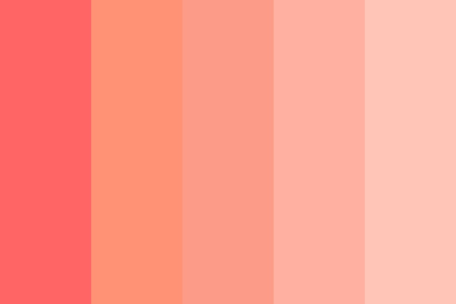 Warm Pinks Color Palette