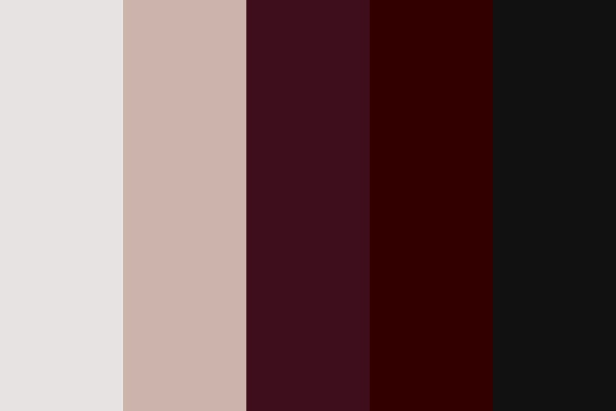 Warm Reds Color Palette
