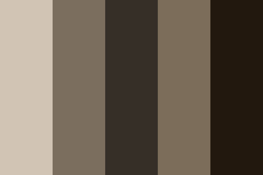 Warm Taupes Color Palette