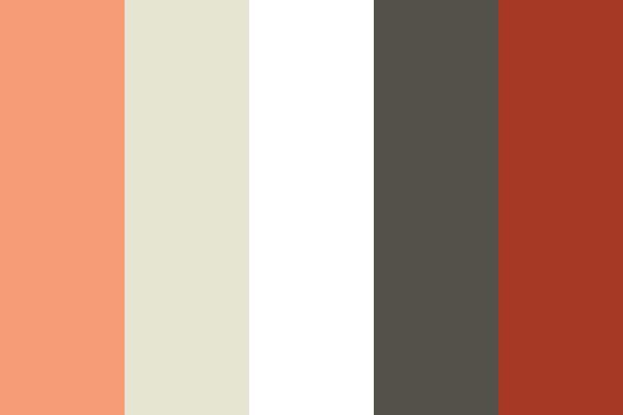 Warmth With Grey Color Palette
