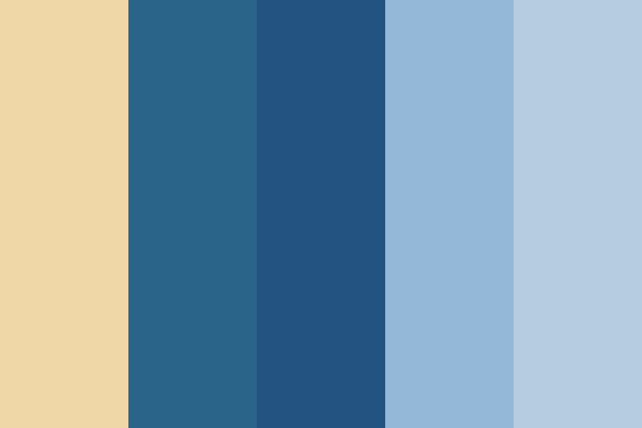 Water And Sky Color Palette