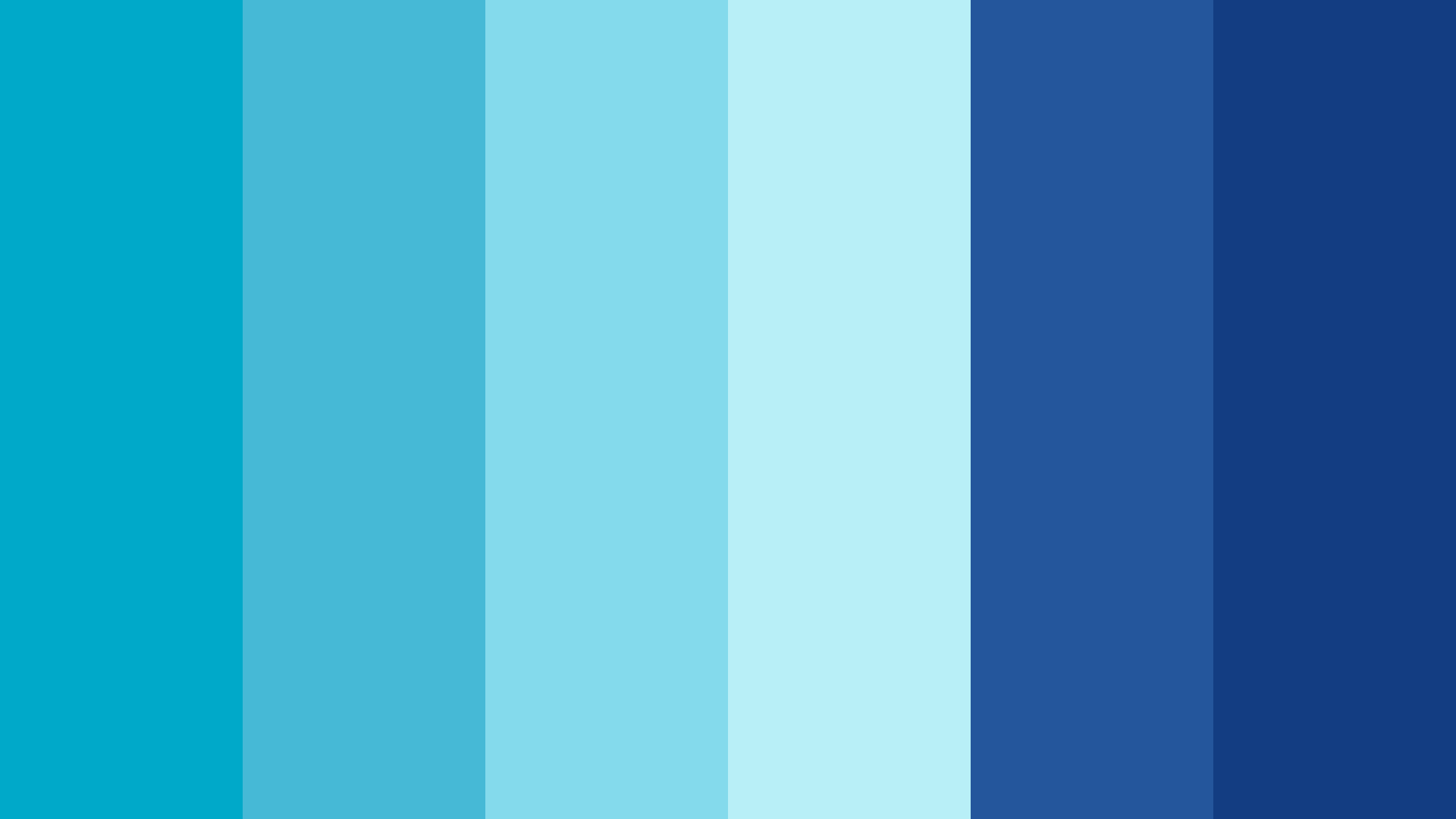 Water Energy Color Palette