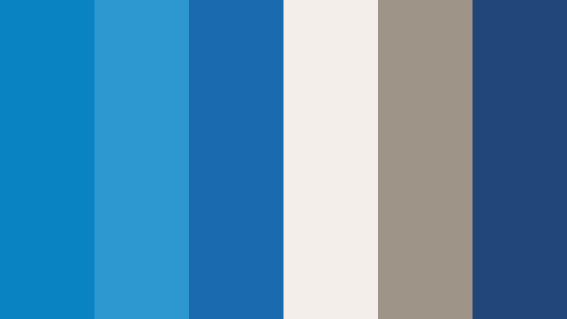 Water Line Of The Sea Color Palette