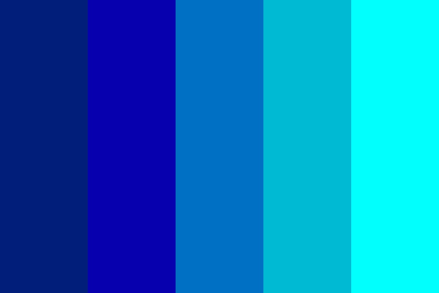 Water Ocean Man Color Palette