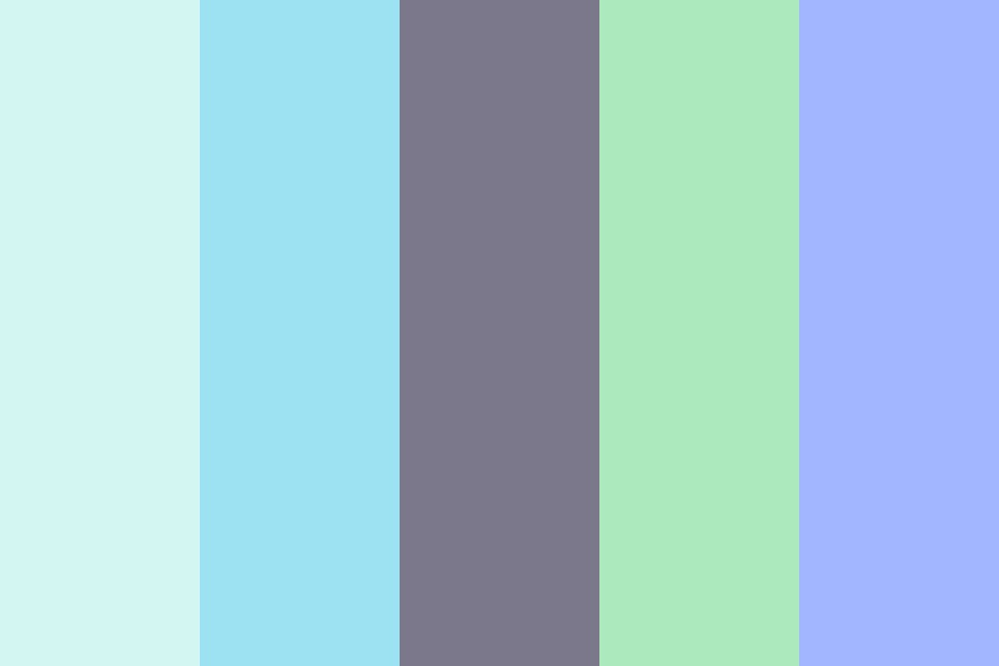 Waterfall Color Palette