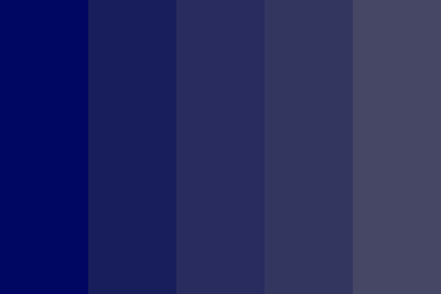 Waves Of Gray And Blue Color Palette