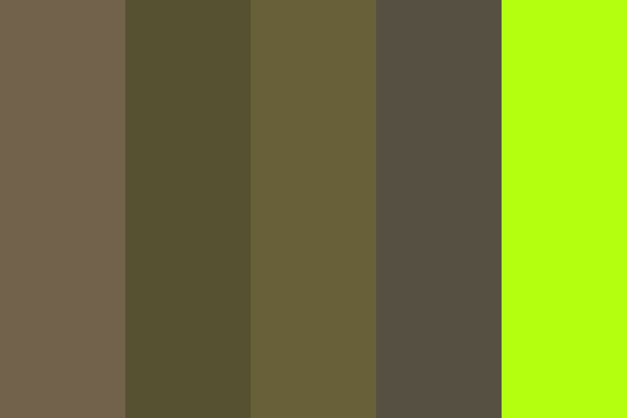 We Found A Dead Body In The Suicide Forest Color Palette