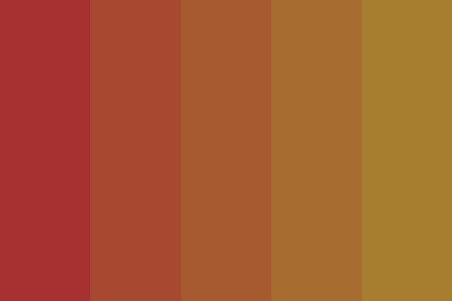We Worked Better In The Summer Color Palette