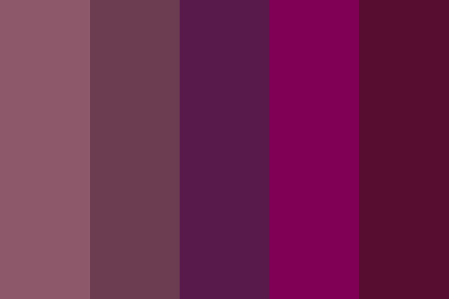 Wearable Purples Color Palette