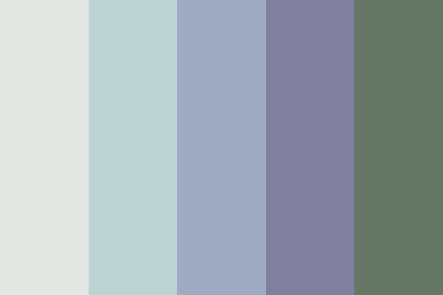Weathered Color Palette