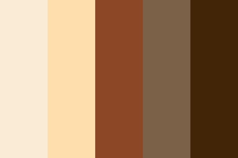 Website Browns Color Palette