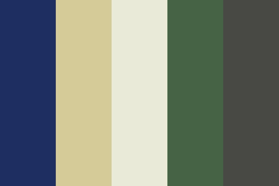 Wedding   Blue Gold Green Color Palette