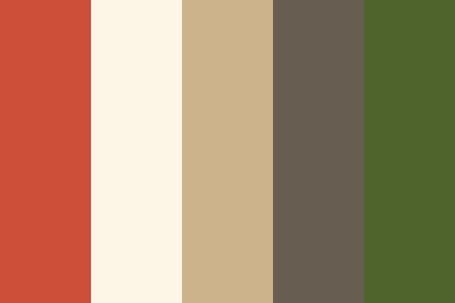 Wedding   Neutrals Red Green Color Palette