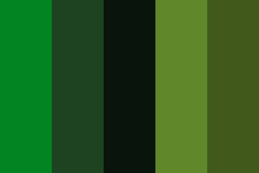 Wedding Greens  Sh Color Palette
