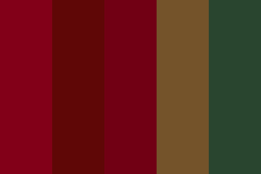 Wedding cp christmas Color Palette