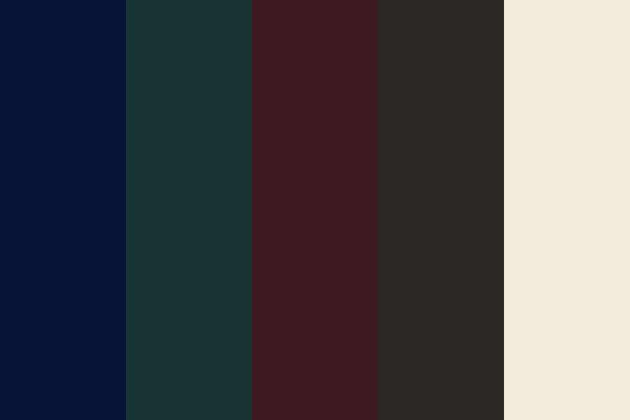 Wedding cp moody Color Palette