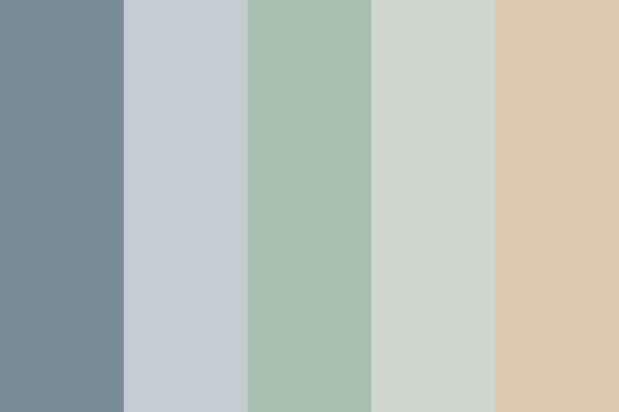 Wedding cp natural Color Palette
