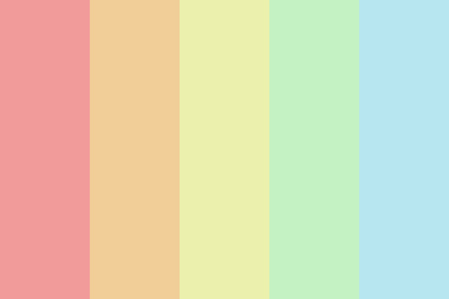 Weird Pastels Color Palette
