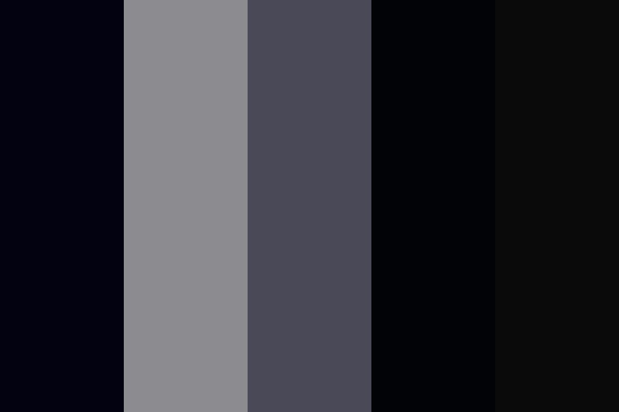 Werewolf Full Moon Color Palette