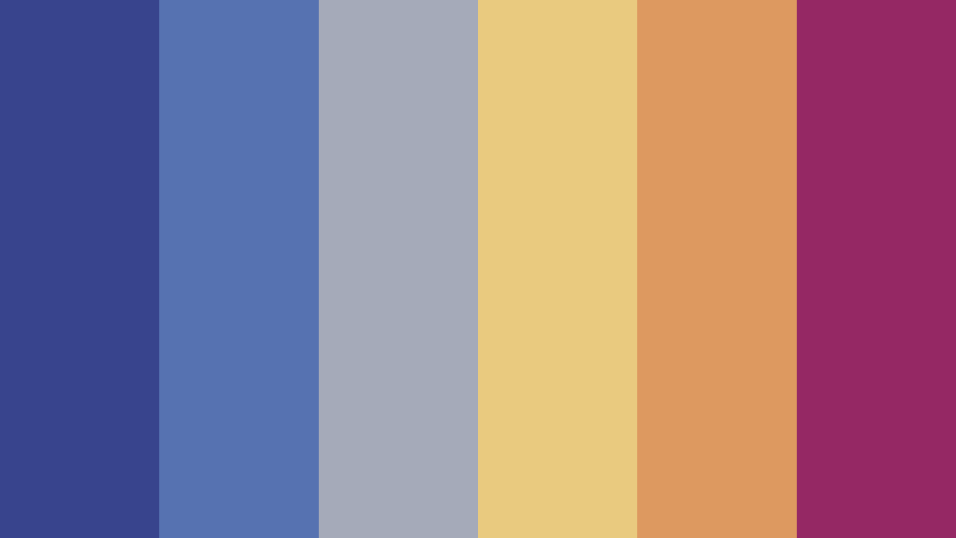 What s On TV  Color Palette