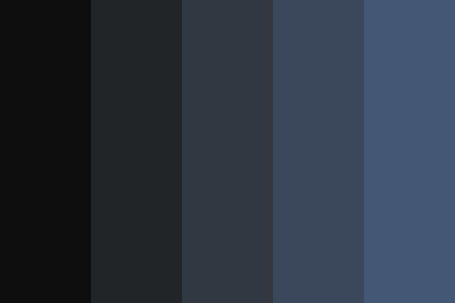 Whered Everyone Go Color Palette