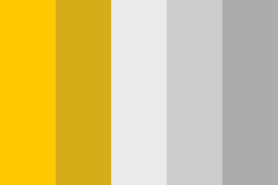 White And Gold Color Palette