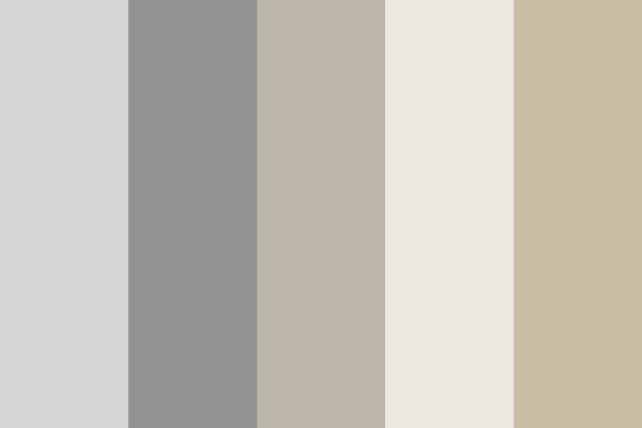 White And Grayish Colors Color Palette