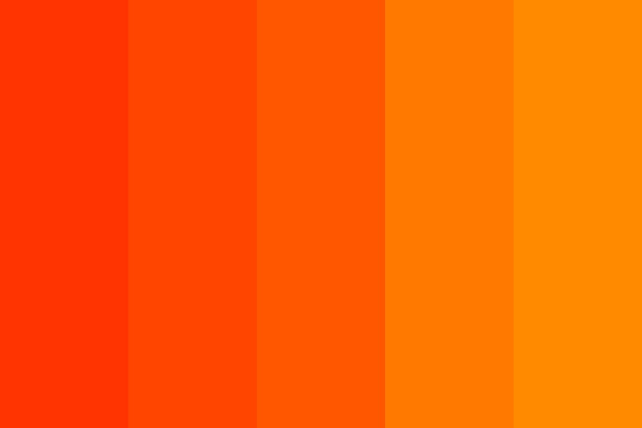 Why Is Orange This Way Color Palette