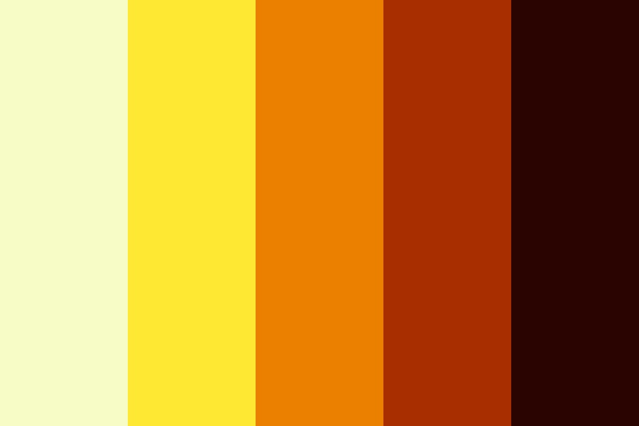 Wild Fire I Color Palette